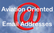 Aviation Oriented Email Addresses